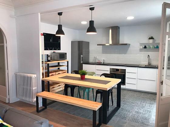 Reforma d'interiors cuina Manresa - Obrallar