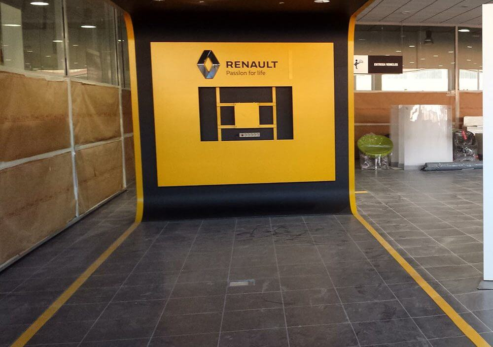Reforma Renault Manresa - Obrallar
