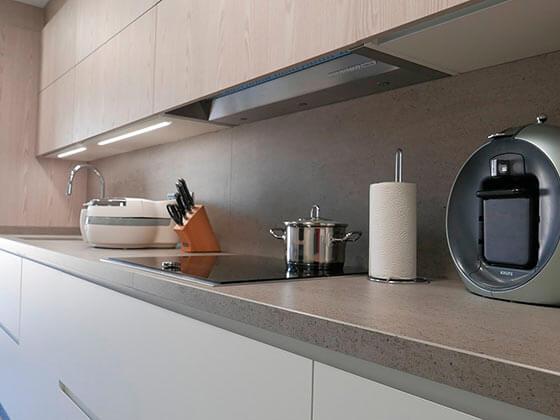 Reforma d'interiors cuina passeig 1 Manresa - Obrallar