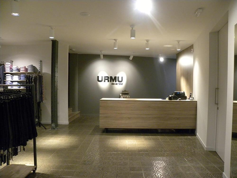 Botiga de roba URMU